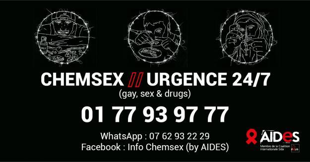 Chemsex Urgence AIDES
