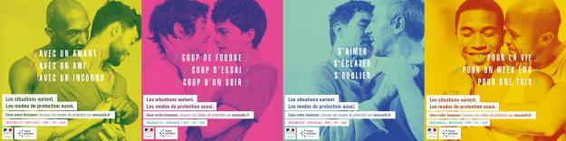 Les visuels de la campagne SexoSafe.fr