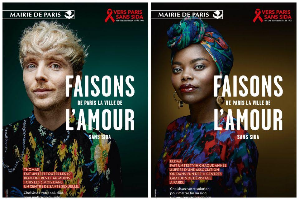 bdb0d065aa10c Campagne   «Faisons de Paris la ville de l amour sans sida»