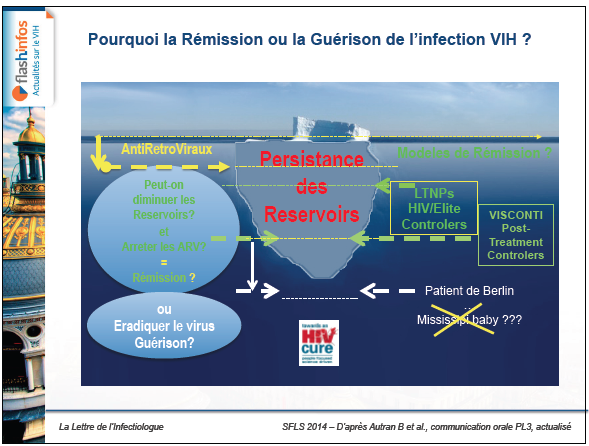 Pourquoi la Rémission ou la Guérison de l'infection VIH.