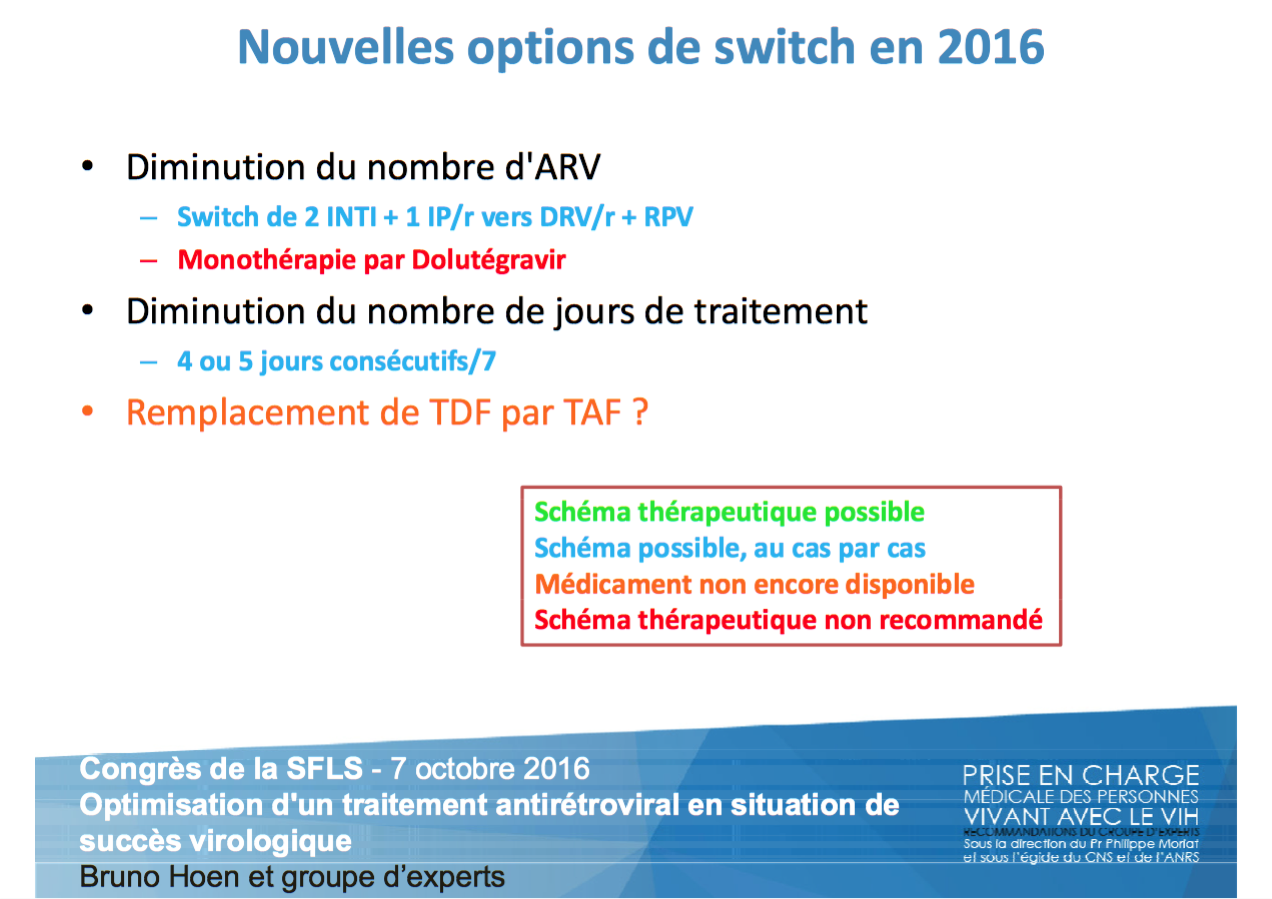 Nouvelles options de switch en 2016
