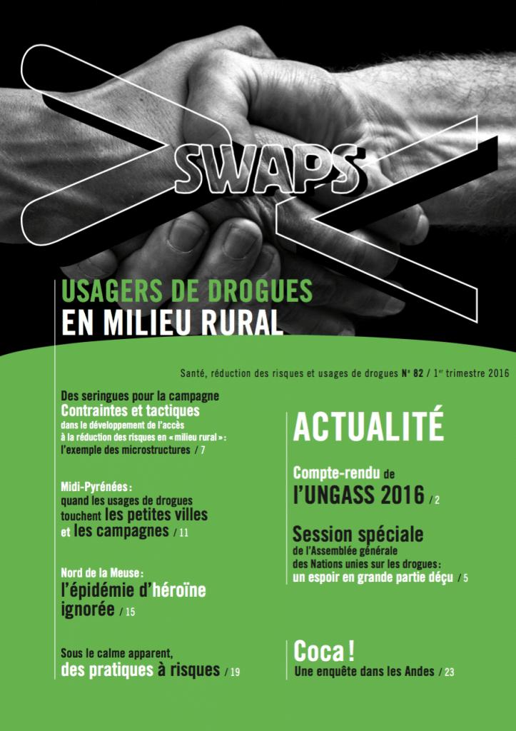 Swaps 82 : Usagers de drogues en milieu rural
