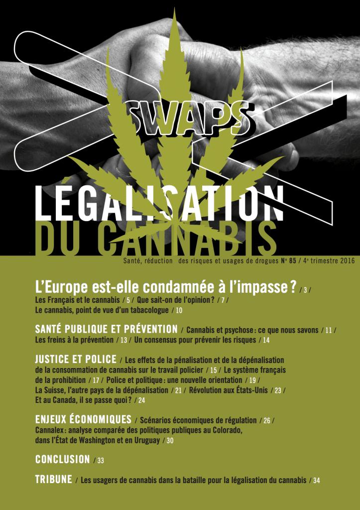 Swaps 85 : Légalisation du cannabis